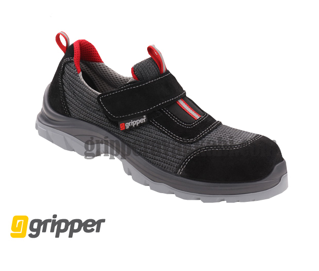YUKON GPR-170 S1 BLACK-RED VELCRO